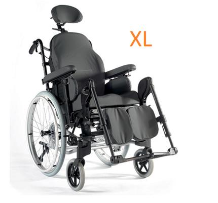 Sunrise Medical Breezy Relax 2 XL Rollstuhl, Pflegerollstuhl & Multifunktionsrollstuhl, SB53, inkl. Trommelbremse, bis 170 kg