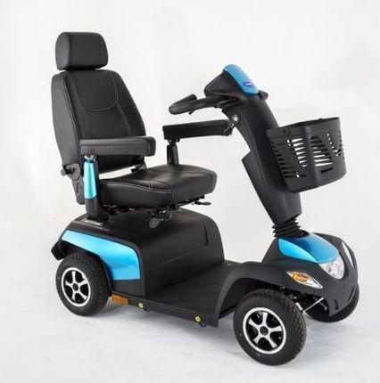Invacare Orion Metro, 4-Rad-E-Mobil,Elektromobil 10 km/h, das saphierblaue Seniorenmobil