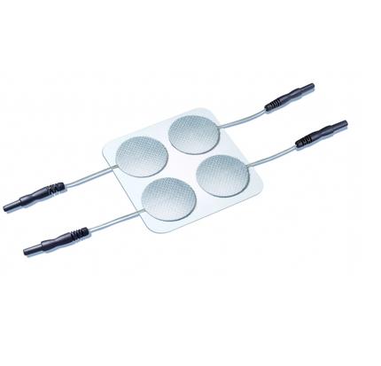 PierenPlus Stimex Tens-Elektroden rund 32mm (P=4), selbstklebend, Elektrode mit Gel