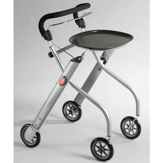 Let's Go Rollator Edition silber/silber
