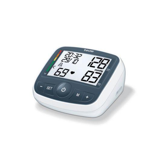 Beurer Oberarm Blutdruckmessgerät BM 40 Blutdruckmessgerät im kompakten Design