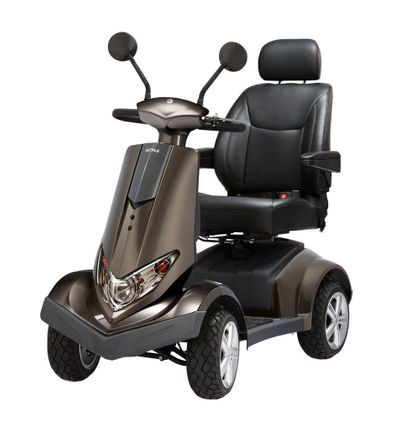 Dietz Bechle Carvo 4-Rad Elektromobil, 13,5 km/h, Premium Seniorenmobil, E-Mobil mit Alpin-Getriebe 001