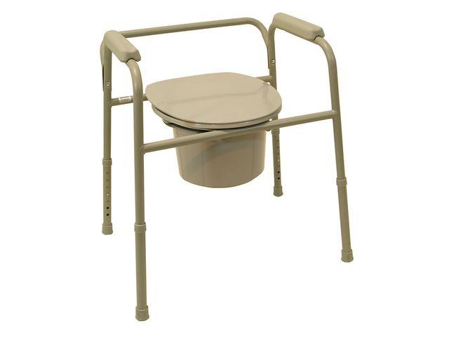 Drive Medical Toilettenstützgestell TSG 130, komfortables WC-Stützgestell bis 130kg belastbar