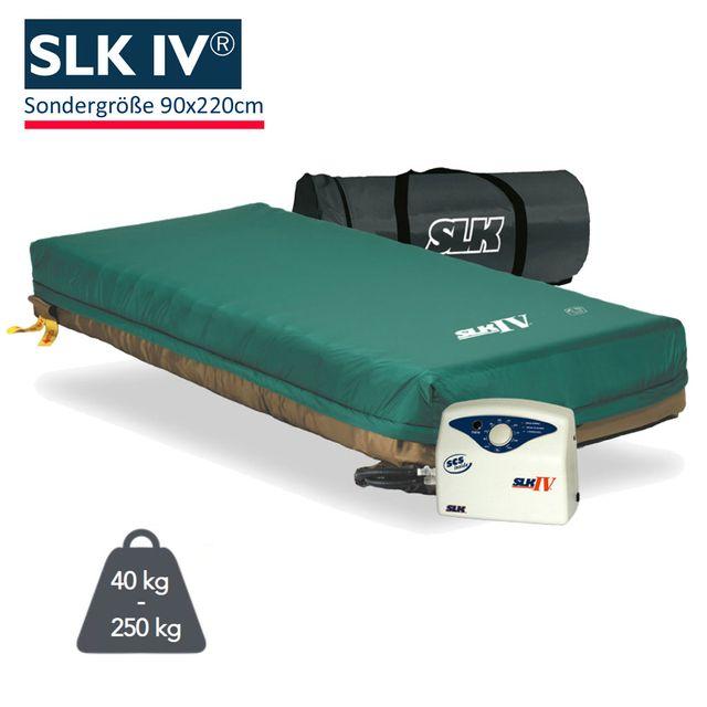 SLK IV Pulsations-Komplettersatzsystem Wechseldruckmatratze, Sondergröße 90x220cm, Dekubitus Grad 4, bis 250kg