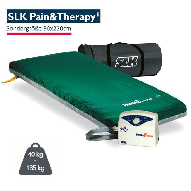 SLK Pain & Therapy Pulsationssystem, Sondergröße 90x220cm, zur Dekubitus- und Schmerztherapie, bis Grad 4, bis 135 kg