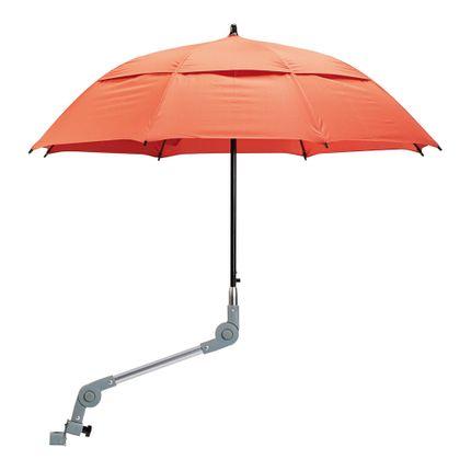 Dietz Regenschirm, rot für die meisten Dietz Rollatoren 001
