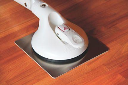 Roth Edelstahlplatten (selbstklebend) für Mobeli Standard Saug-Haltegriffe