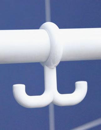Roth Doppelhaken für Mobeli Standard Saug-Haltegriffe