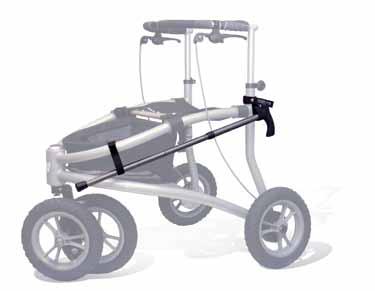 Stockhalter für Veloped Walker Rollator