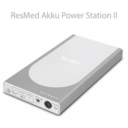 Resmed Power Station II Akkupack komplettes Kit für Resmed S9 Serie