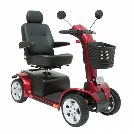 Elektromobil Life Maxi 6 km/h, der hohe Fahrkomfort des Seniorenmobils durch Vollfederung, sehr gutes E-Mobil