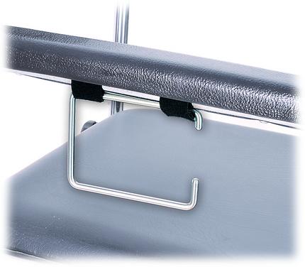 MPB Toilettenpapierhalter aus Edelstahl, zur Montage am Toilettenstuhl-Seitenteil