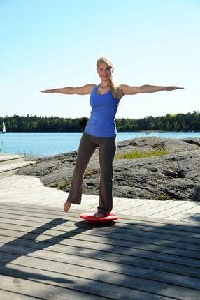 SISSEL® Balance Board, belastbar bis ca. 100 kg, Maße: Ø ca. 37 cm, ca. 8 cm hoch