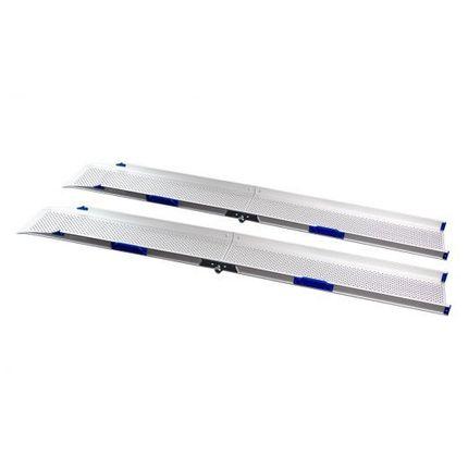 Feal PerfoLight Rampe klappbar 200cm Etac Faltrampe, Paar, bis 300kg belastbar