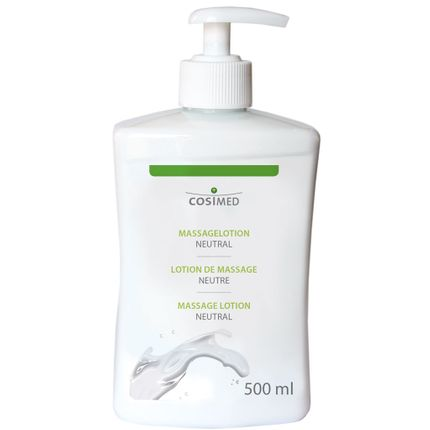 CosiMed Massagelotion neutral, 500ml mit Dosierspender
