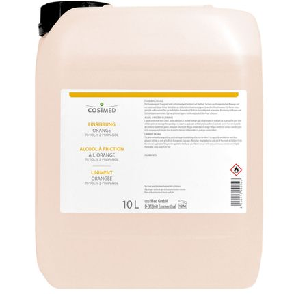 cosiMed Einreibung Orange (70 Vol.% 2-Propanol) 10L