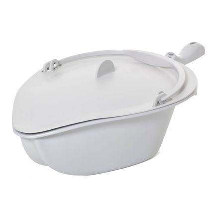 Etac Becken für Clean Dusch- und Toilettenstuhl, grau