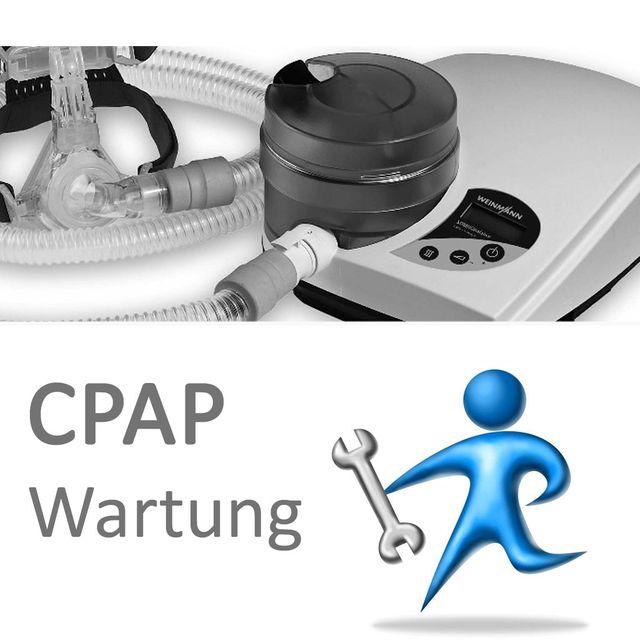 CPAP Wartungsservice, Standard, für nCPAP- & APAP-Geräte, inkl. Filterwechsel, in Fachwerkstatt bei Burbach+Goetz