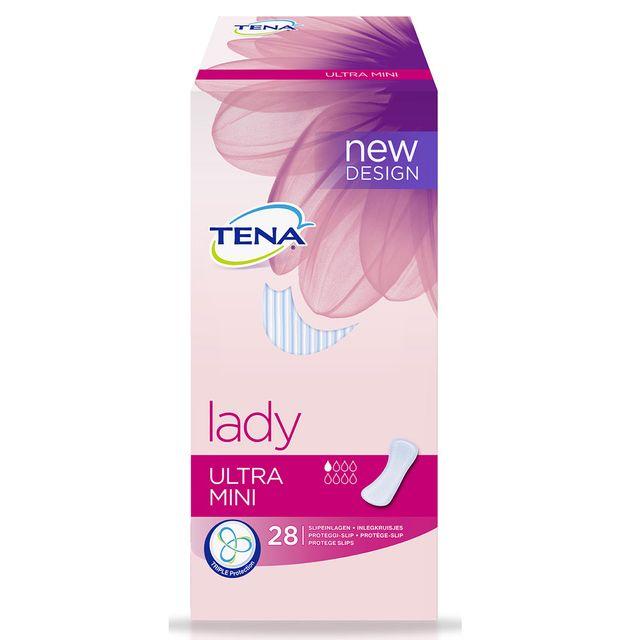 Tena Lady Ultra Mini (28 Stück) Slipeinlage bei leichter Blasenschwäche