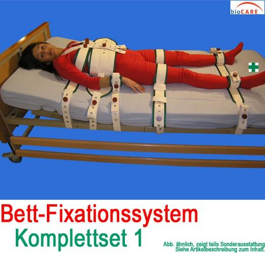 Biocare Fixationssystem Komplettset 1 Bett-Fixierungssystem