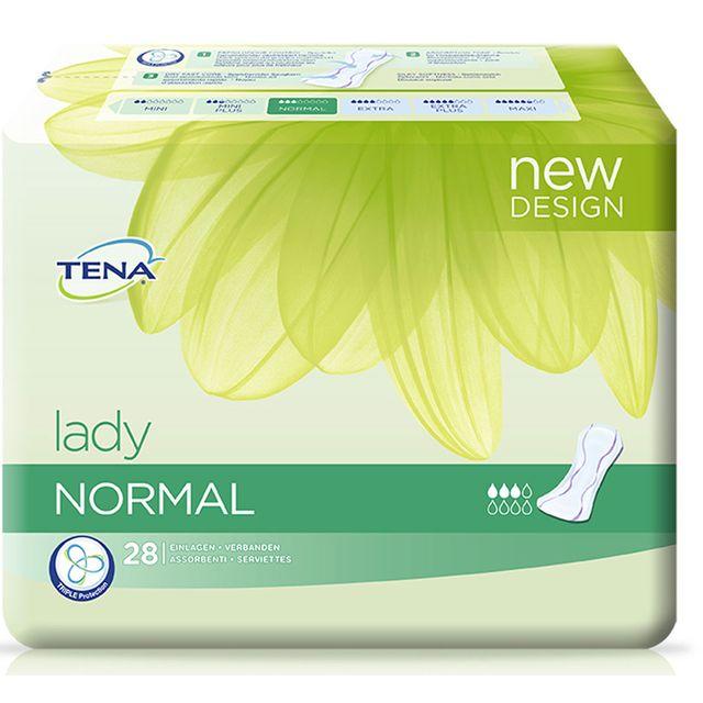Tena Lady Normal (P=28) für den diskreten Schutz bei Blasenschwäche