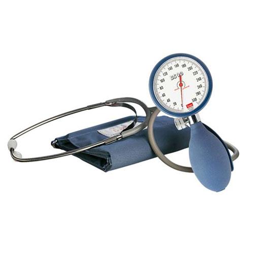 Boso BS 90 Blutdruckmessgerät, aneroid, inkl. Manschette und Stethoskop,