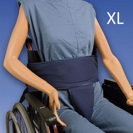 Biocare Sitzhose Klett, XL, für Hüfte und Becken, Patientensicherungssystem, für Personen im Rollstuhl mit instabilem Unterkörper