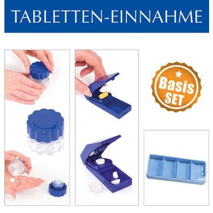 Thomashilfen Tabletten-Einnahme - Basis-Set, 3-teilig, praktische Hilfe bei der Tabletteneinnahme 001