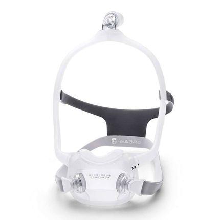 Philips DreamWear Fitpack CPAP-FullFace-Maske, zur Schlafapnoe-Therapie, komplett mit Kopfband und allen Maskenkissen