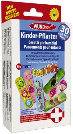 "Wundmed Kinderpflaster ""Fantasy"", 30 Stück"