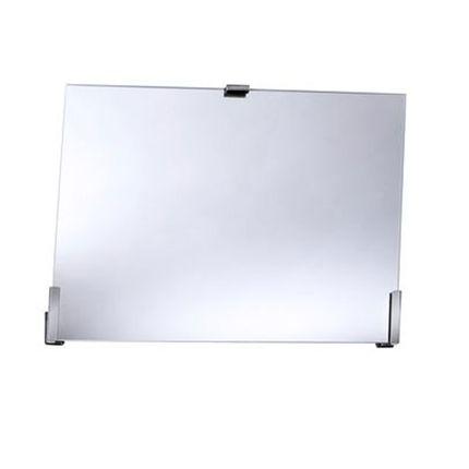 FRELU Kippspiegelgarnitur ohne Verstellhebel, Neigungswinkel 35°, verstärkte Version, für Spiegel bis H=60cm und B=80cm geeignet