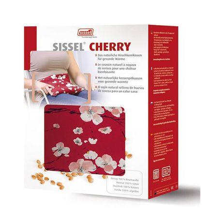 """Sissel Cherry Kirschkernsäckchen Motiv Kirschblüte, die """"trockene"""" Wärmflasche für natürliche Wärme!"""