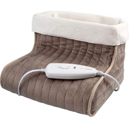 Medisana Fußwärmer FWS - mit Öko-Tex, bis Schuhgröße 46 geeignet, 3 einstellbare Temperaturstufen, 100 Watt