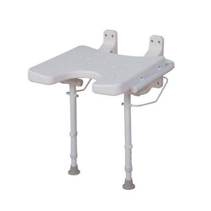 RFM Duschklappsitz Duschsitz Hygieneausschnitt, Belastbarkeit 113 kg