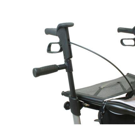 Führungsgriff für Topro Troja 2G Rollator Griff für Begleitperson oder Therapeut
