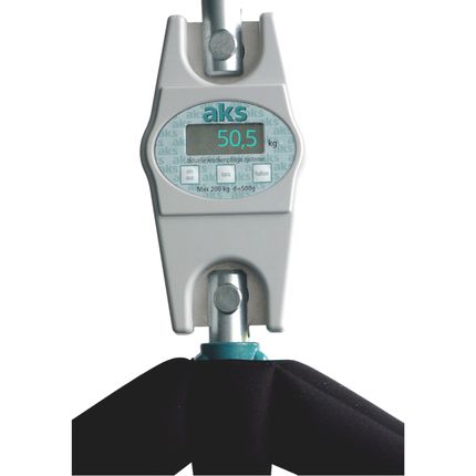AKS Lifterwaage Digital Modell DW150, für AKS Patientenlifter mit Adapter (ungeeicht)