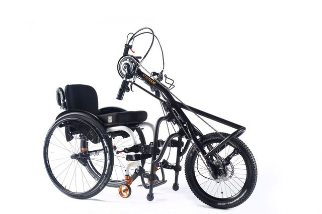 Sopur Handbike ATTITUDE Manual Das kraftvolle Trainings-Handbike!