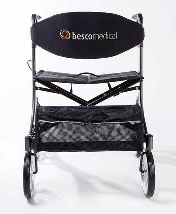 Bescomed Spring XL Leichtgewicht-Rollator, mit justierbaren Spiralfedern, bis 250kg