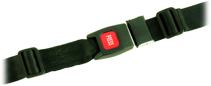 Sicherheitsgurt Sigu 8, Breite 40mm, Länge 220cm einteilig, zum Umlegen um die Rückenlehne
