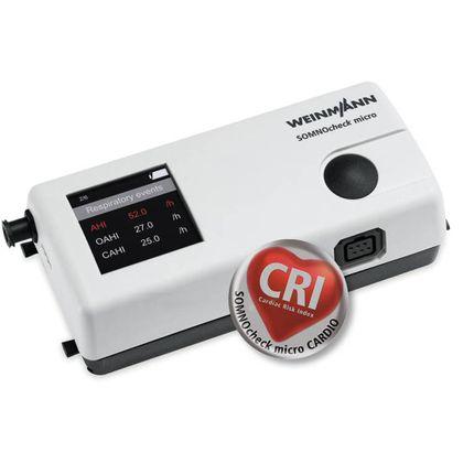 Weinmann/Löwenstein SOMNOcheck micro CARDIO Schlafdiagnostik-Gerät zur Schlafapnoe-Diagnose