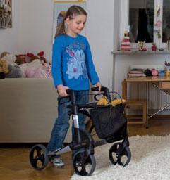 Rollator Topro Troja X für Kinder Gehwagen für Kinder und Kleinwüchsige
