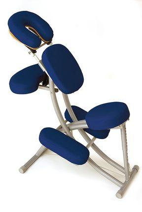 Sissel Portal Pro Therapy Chair (blau) by Oakworks Der mobile Profi-Stuhl für Massage und Therapie