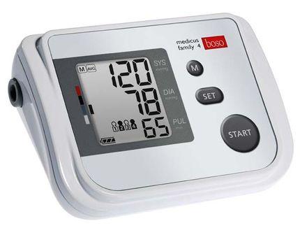 Boso Medicus Family 4 Oberarmmessgerät Das Familien-Blutdruckmessgerät