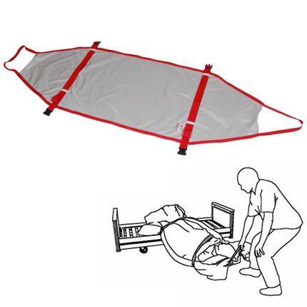 Immedia Rescue Standard Notfall-Evakuierung-System Etac Gleitmatte einfach unter Matratze legen