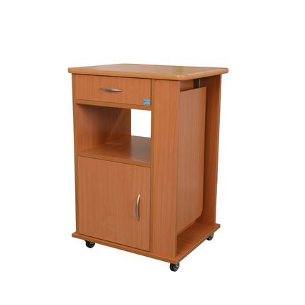 AKS Notto Nachttisch, der nützliche und ausziehbare Nachtschrank am Pflegebett