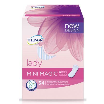 Tena Lady Mini Magic (Karton 204 Stück)  Die kleinste Slipeinlage im TENA Lady Sortiment