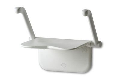 Etac Relax Duschklappsitz S.P.A. Collection weiß oder grau, hier konfigurierbar