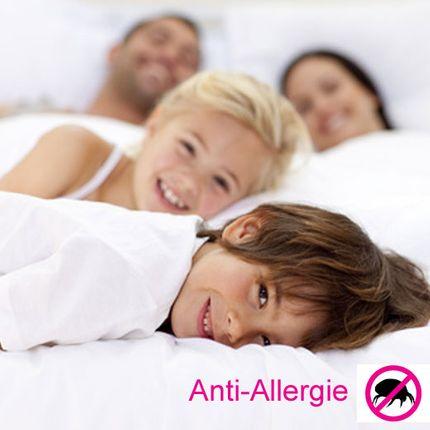 Anti-Allergie-Kissenbezug Comfort & Best, milbendicht, allergendicht, atmungsaktiv