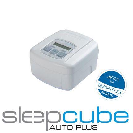 DeVilbiss Sleepcube AutoPlus CPAP APAP Gerät mit Smartflex Ausatemerleichterung