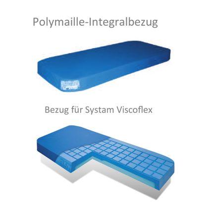 Polymaille Integral Ersatzbezug für Systam Viscoflex 90x200x14cm